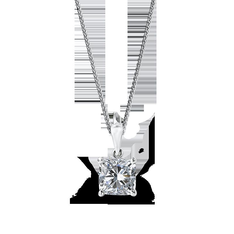 cushion-cut-diamond-solitaire-pendant
