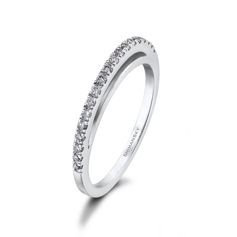 Evolym Diamond Wedding Ring