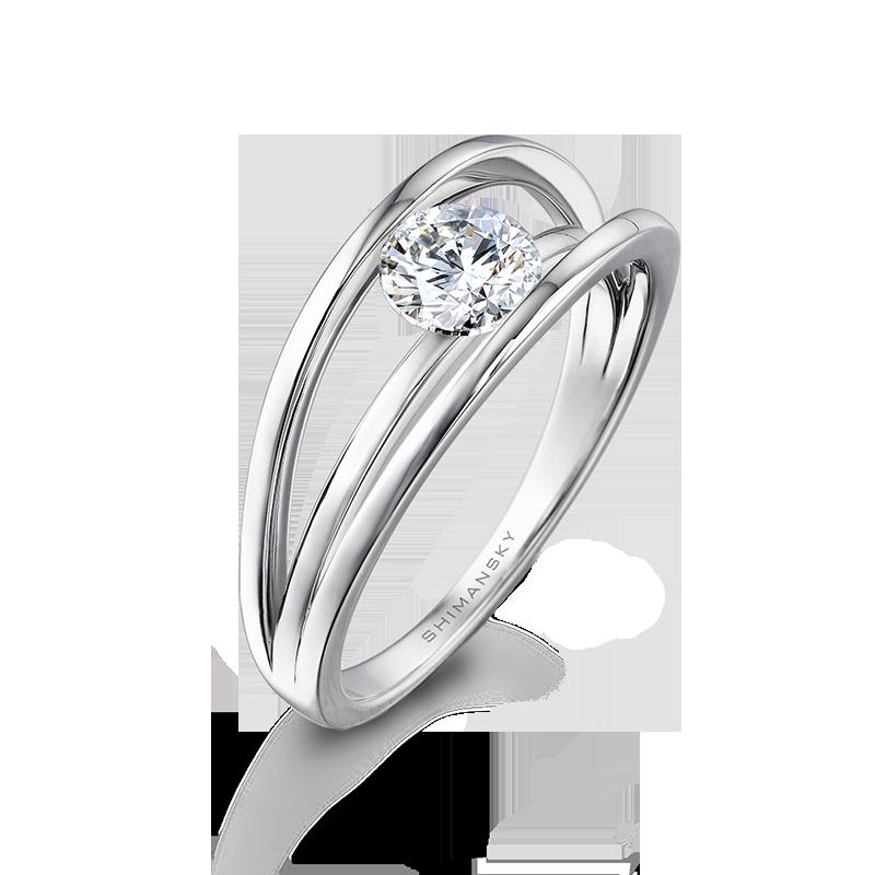 Shimansky Evolym Classic Diamond Ring
