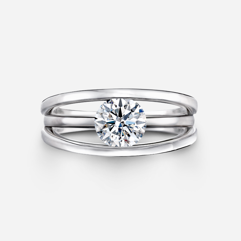 Evolym Classic Diamond Ring