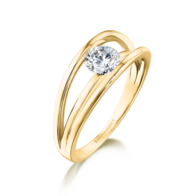 Evolym-classic-diamond-engagement-ring-yellow-gold-shimansky-01