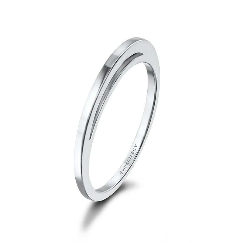 Shimansky Classic Evolym Wedding Ring