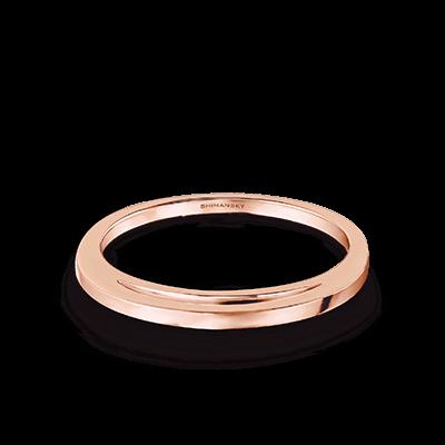 Evolym Wedding Band 18K Rose Gold | Shimansky