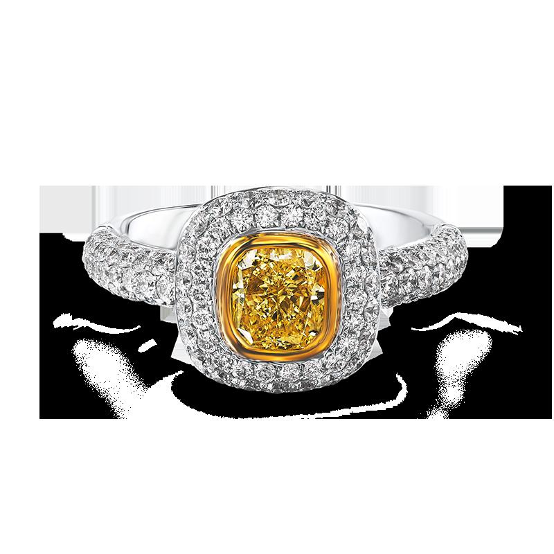 14-tube-set-radiant-cut-fancy-yellow-diamond-ring-set-with-pave-set-diamonds-02