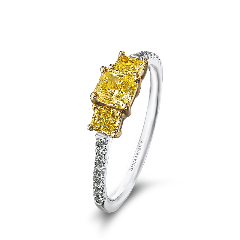 09-radiant-cut-yellow-diamond-trilogy-ring-with-claw-set-round-diamonds-01