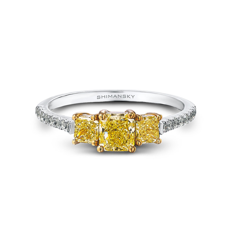 09-radiant-cut-yellow-diamond-trilogy-ring-with-claw-set-round-diamonds-02