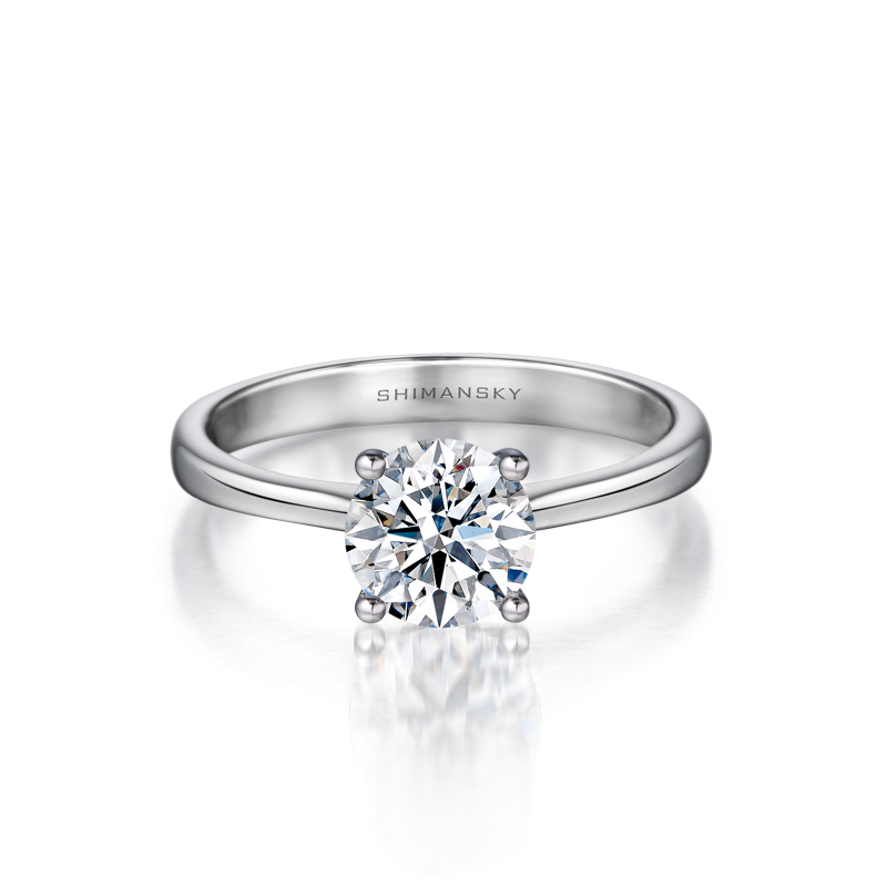 Shimansky I Do Diamond Engagement Ring