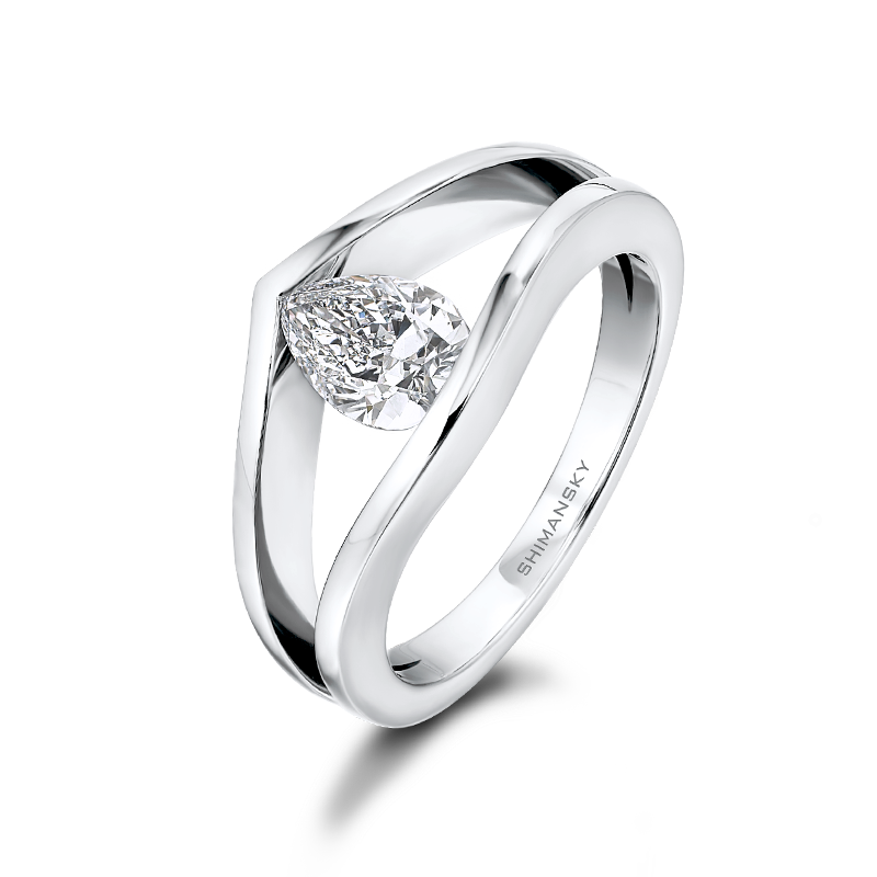 Millennium Pear Shaped Diamond Ring