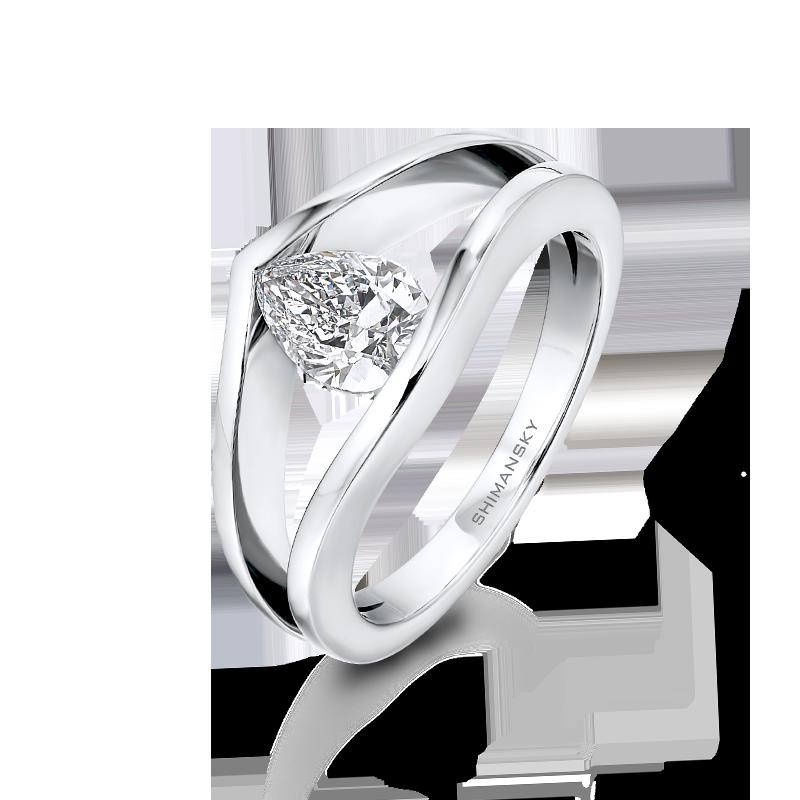 Millennium Pear Shaped Diamond Ring