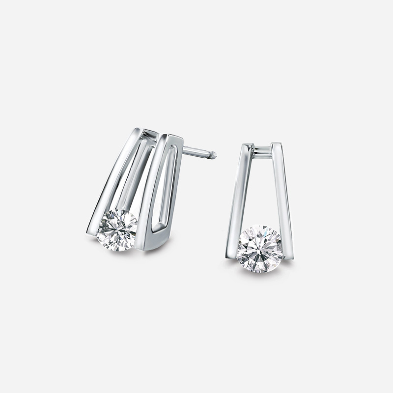 Shimansky Millennium Diamond Earrings