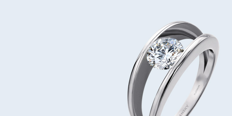 4f71207f64f558 Round Brilliant Millennium Diamond Ring | Shimansky