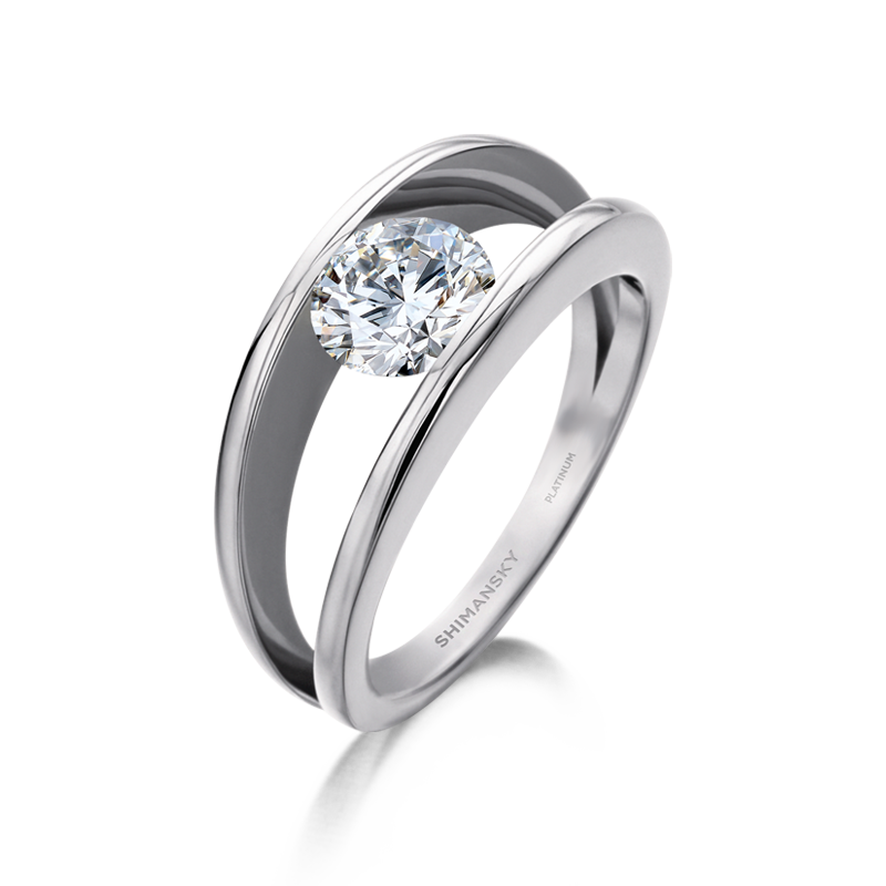 3f091c8f7dc3c6 platinum-millennium-round-brilliant-cut-diamond-engagement-ring-