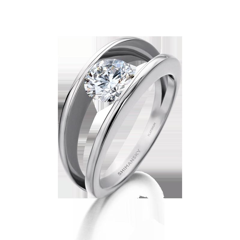 platinum-millennium-round-brilliant-cut-diamond-engagement-ring-shimansky-01-1