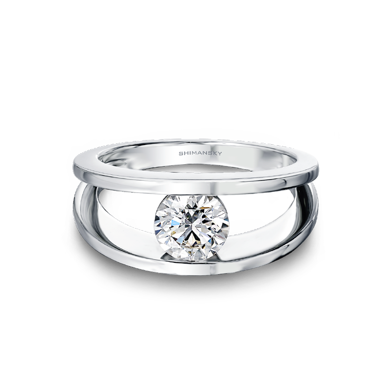 Millennium Diamond Ring Flat View