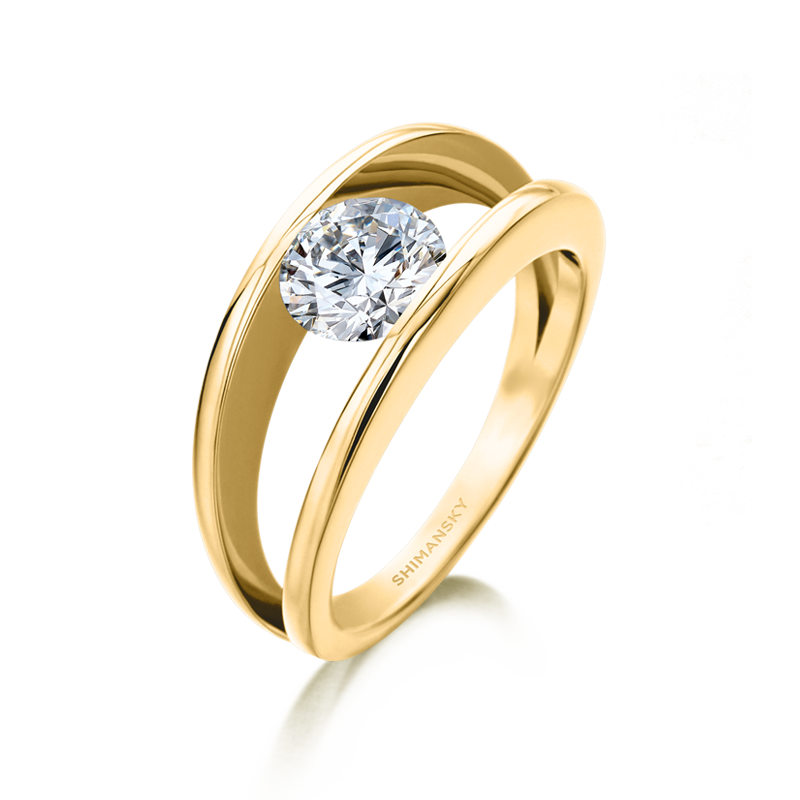 yellow-gold-millennium-round-brilliant-cut-diamond-engagement-ring-shimansky-01