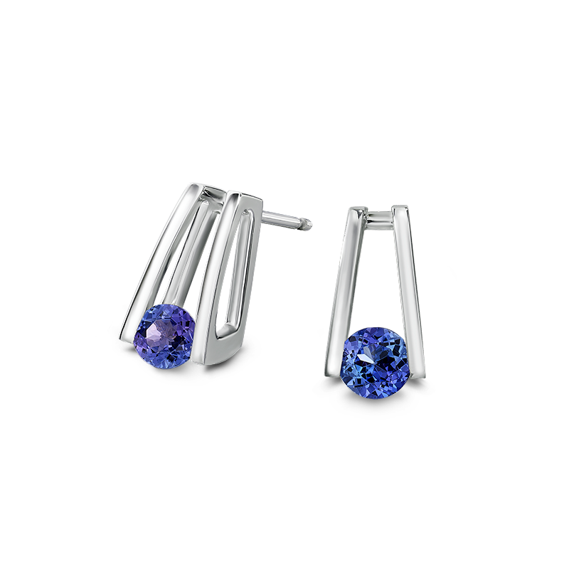 Shimansky Millennium Tanzanite Earrings