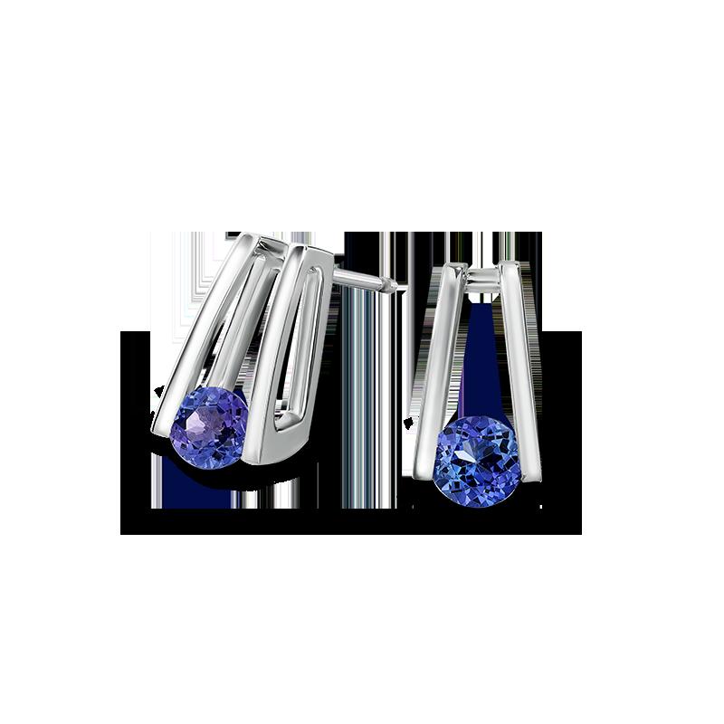 Shimansky Millennium Tanzanite Earrings