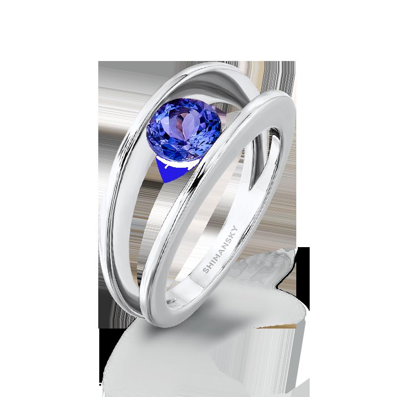 Millennium Tanzanite Ring Shimansky