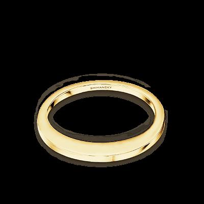 Millennium Wedding Band 18K Yellow Gold   Shimansky