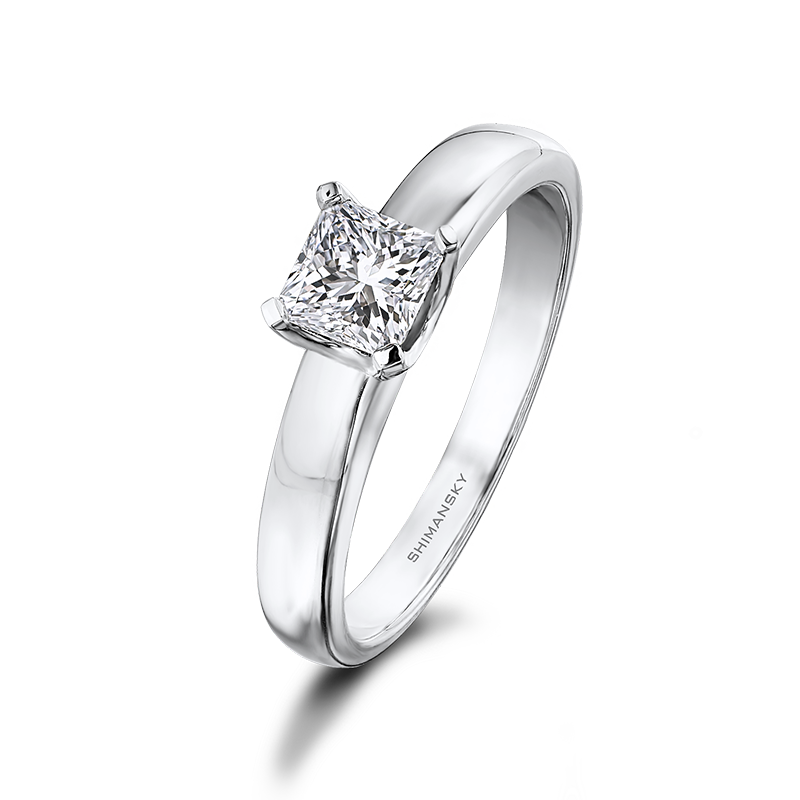 Shimansky My Girl U-Collect Solitaire Diamond Engagement Ring