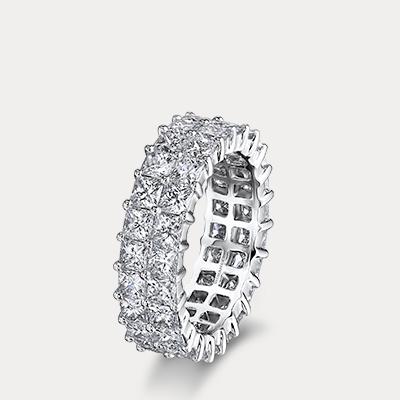 Shimansky My Girl Diamond Double Row Full Eternity Ring
