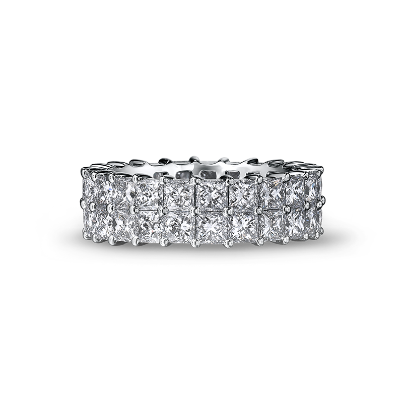 Shimansky My Girl Diamond Double Row Full Eternity Ring