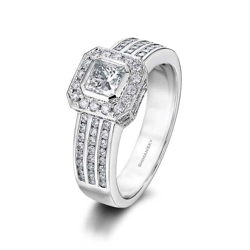 Shimansky My Girl Diamond Pave Ring