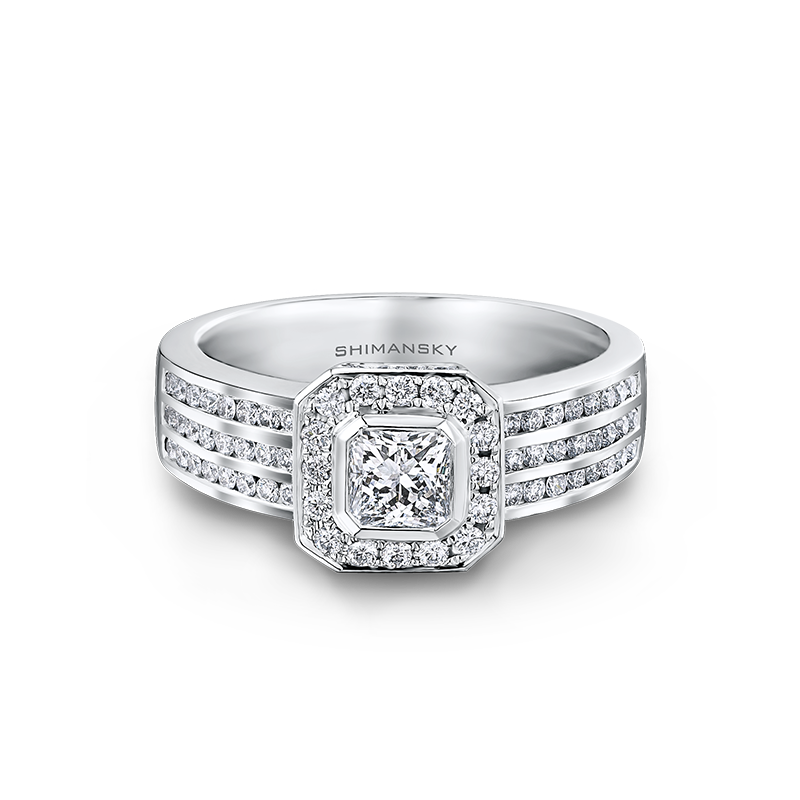 Shimansky My Girl Diamond Pave Ring
