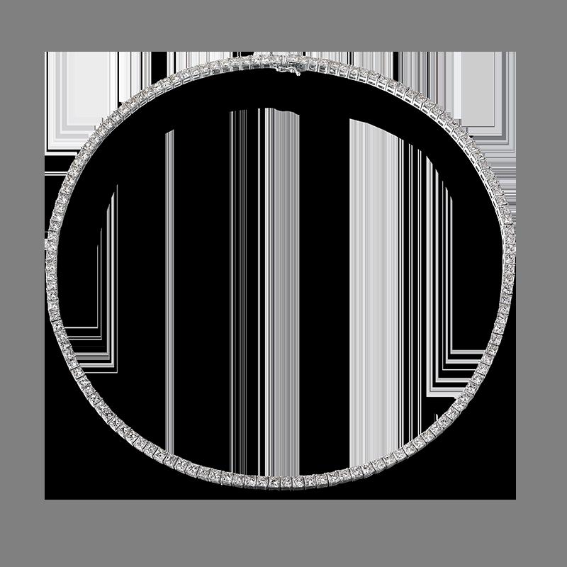 Shimansky My Girl Diamond Classic Tennis Necklace