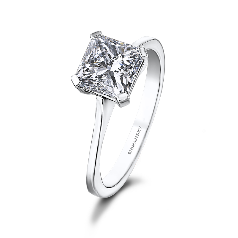 Shimansky My Girl Solitaire Diamond Engagement Ring