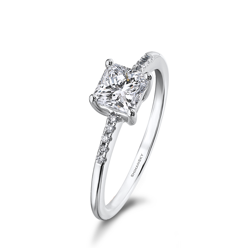 Shimansky My Girl Micro Set Diamond Engagement Ring
