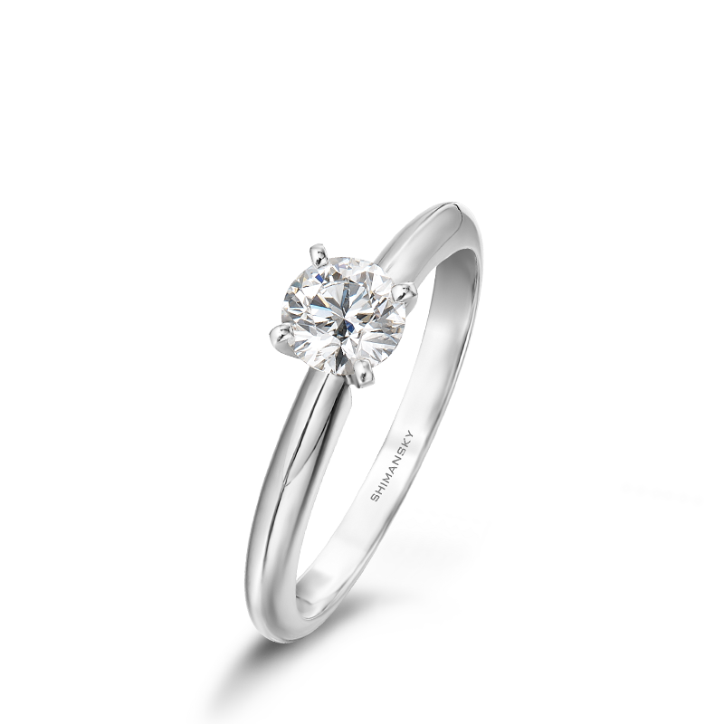 Shimansky 4 Claw Solitaire Diamond Ring