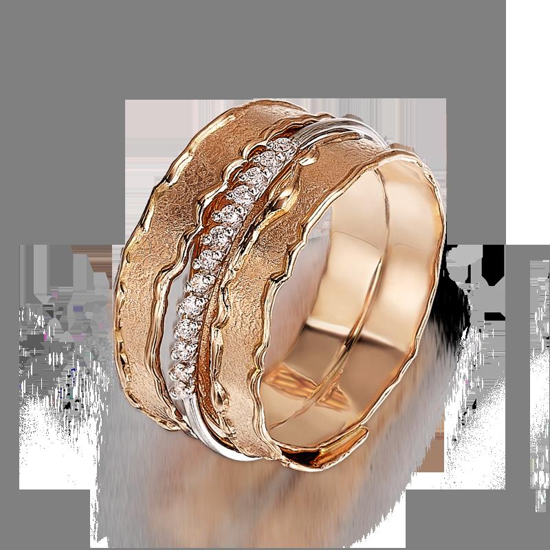 Shoreline Rose Gold and Diamond Shimansky Ring