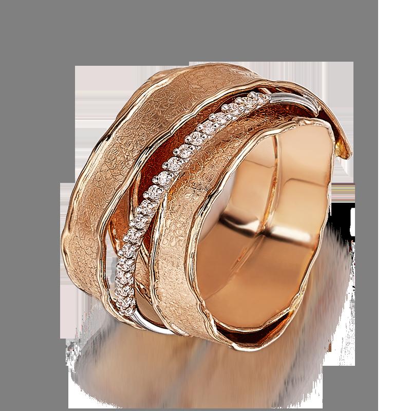 Shoreline Tallulah Rose Gold and Diamond Ring Shimansky