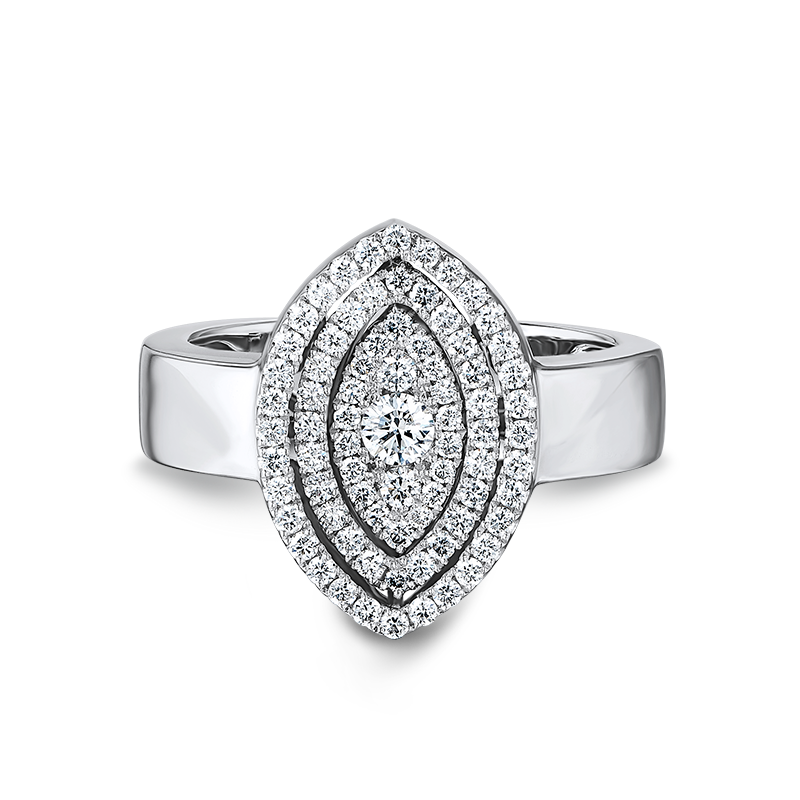 Shimansky Starlight Marquise Shape Diamond Ring
