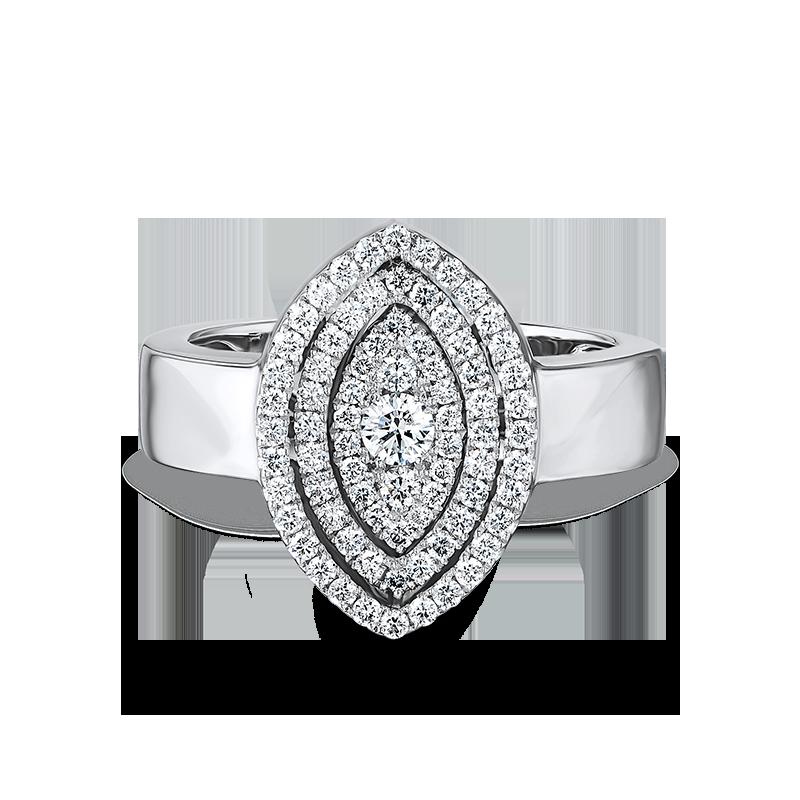 Shimansky Starlight Marquise Shape Diamond Ring