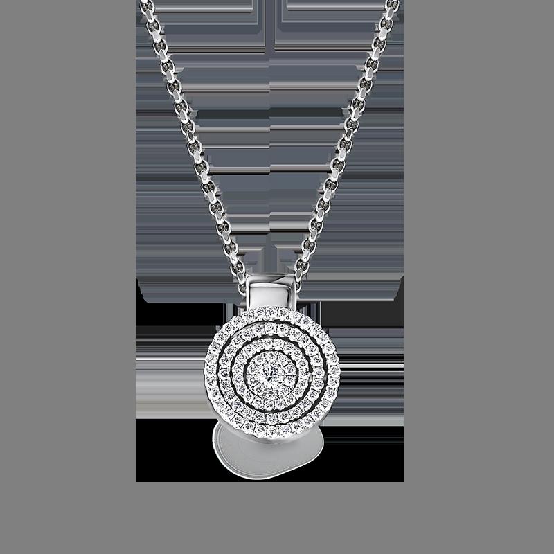 Shimansky Starlight Round Shape Diamond Pendant