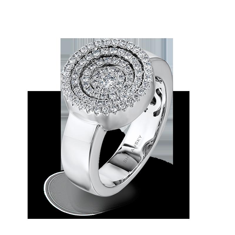 Shimansky Starlight Round Shape Diamond Ring