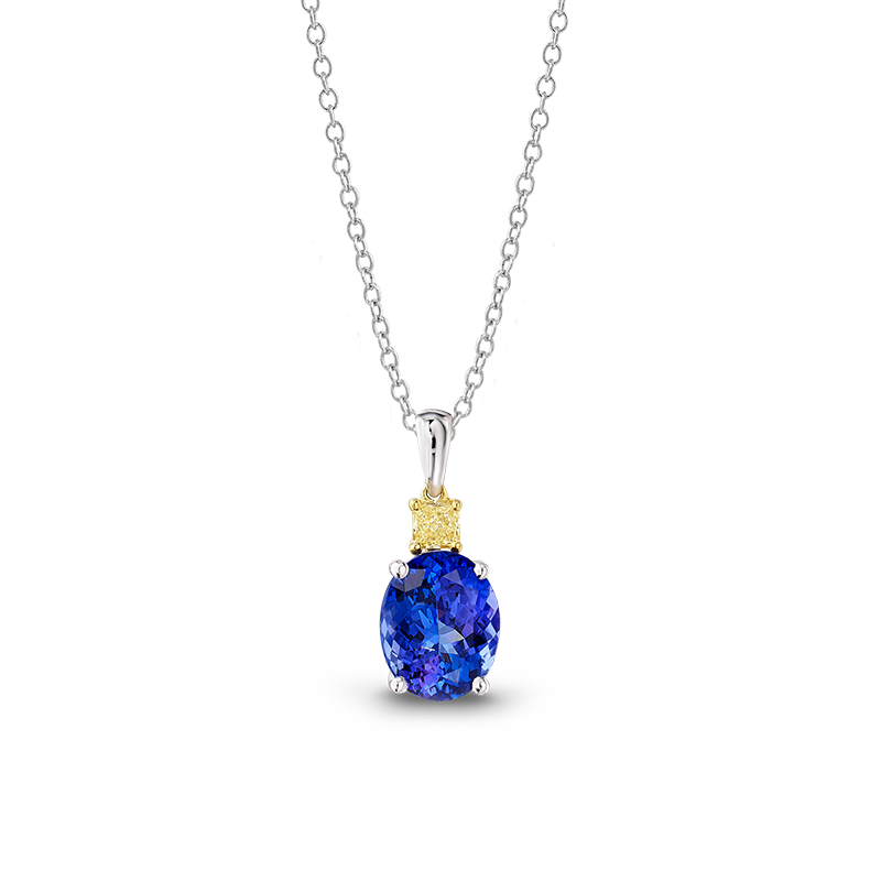 08-oval-tanzanite-and-fancy-yellow-diamond-drop-pendant