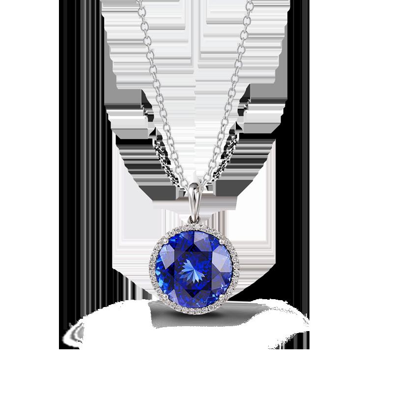 02-round-tanzanite-and-micro-set-diamond-halo-pendant-2