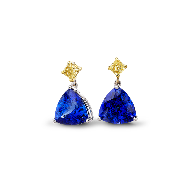 03-trilliant-tanzanite-and-fancy-yellow-diamond-drop-earrings