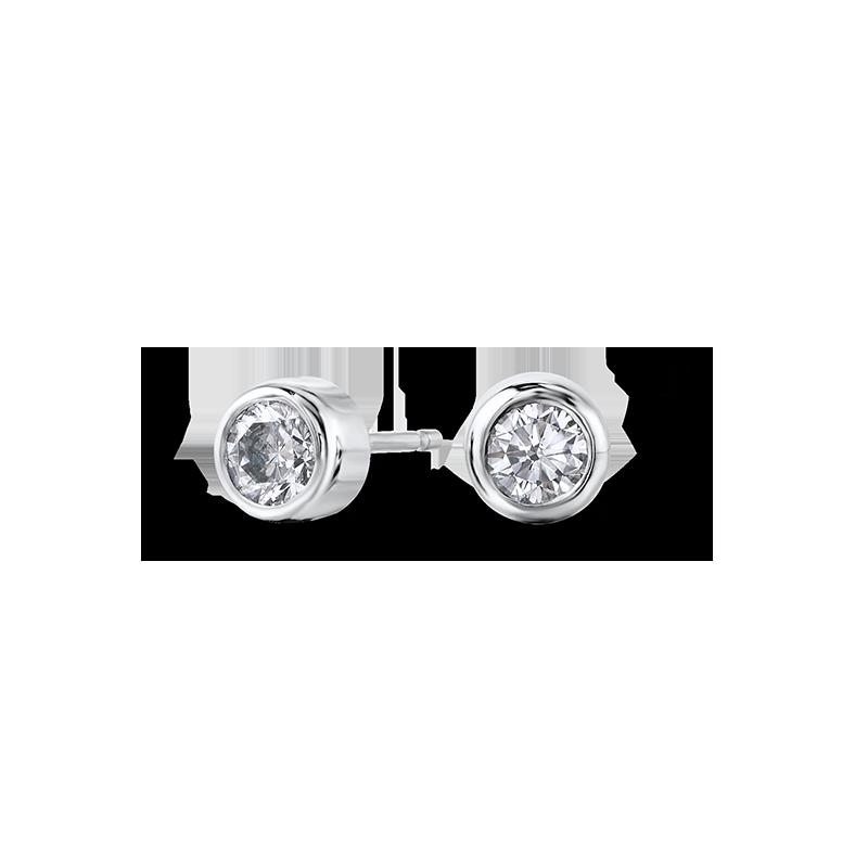 tube-set-round-brilliant-cut-diamond-studs