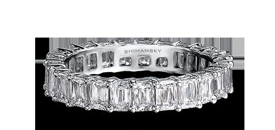 Shimansky Criss Cut Diamond Full Eternity Ring