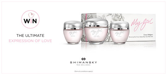 Shimansky My Girl Skincare Products
