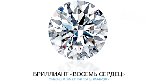 Eight Hearts Diamond Cut Super Ideal