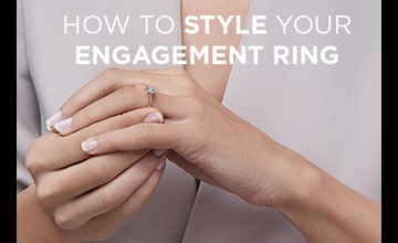 How To Wear Your Engagement Ring