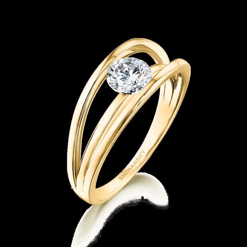 Evolym-classic-diamond-engagement-ring-yellow-gold-shimansky-01
