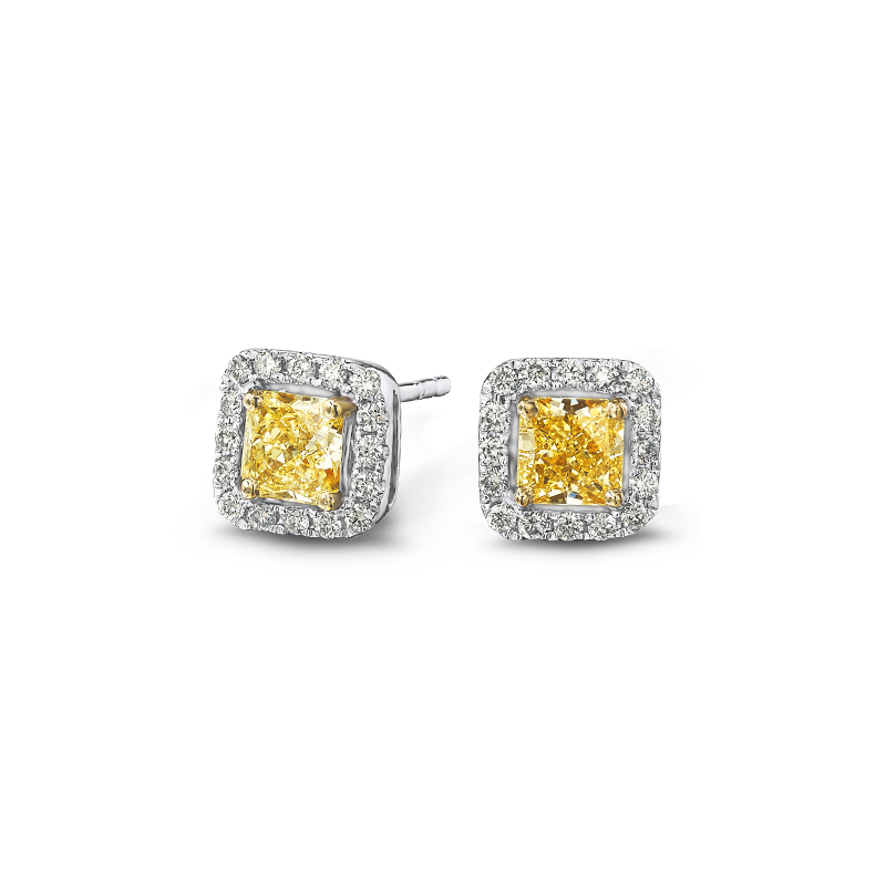 05-claw-set-my-girl-fancy-yellow-diamond-micro-set-halo-earrings
