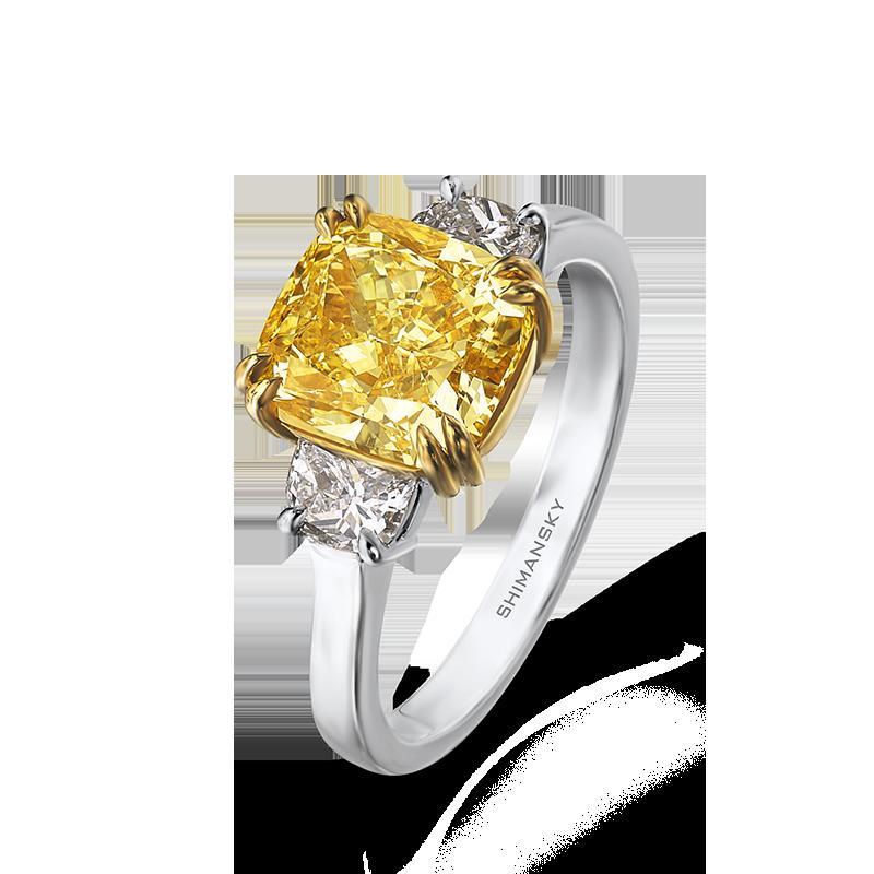 13-claw-set-radiant-cut-fancy-yellow-diamond-trilogy-ring-01