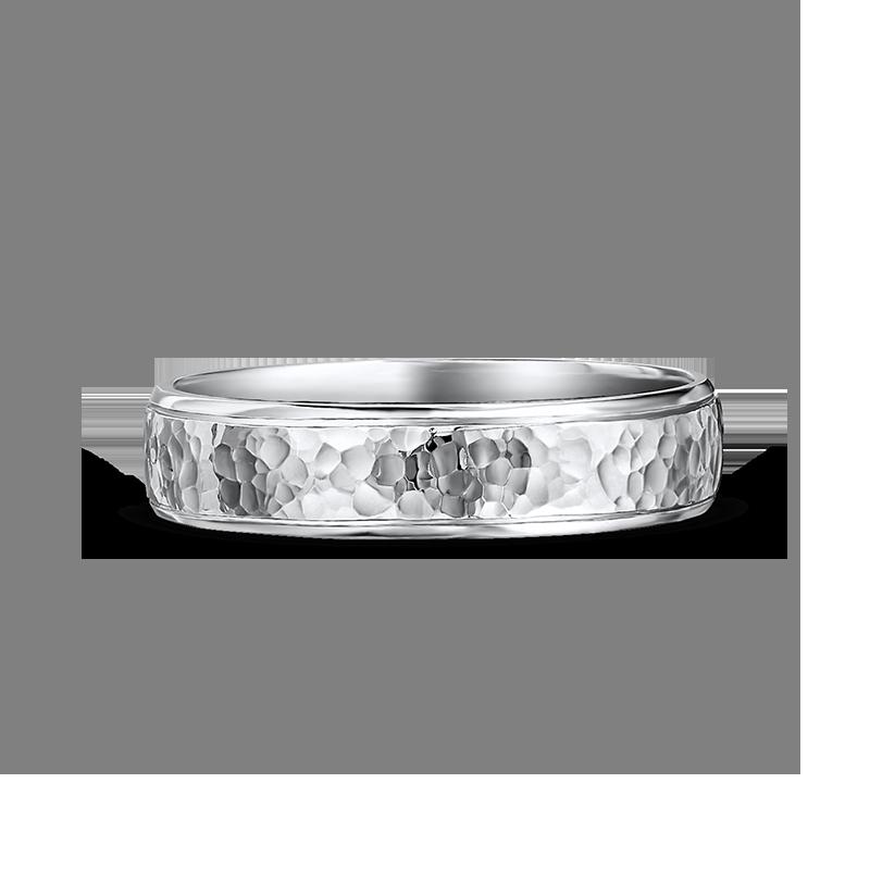 ID00119-5mm-shiny-half-round-mens-wedding-band-with-hammered-finish-02